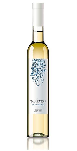 Sauvignon D'Or - Bílé polosladké víno 0,5l