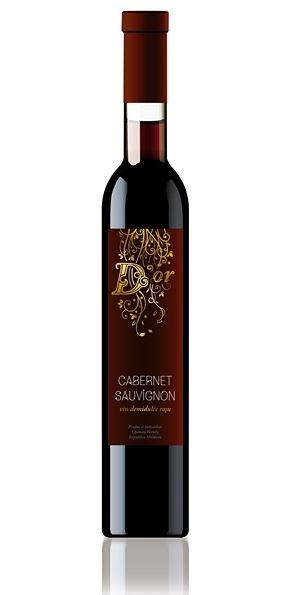 Cabernet Sauvignon D'Or - Červené polosladké víno 0,5l