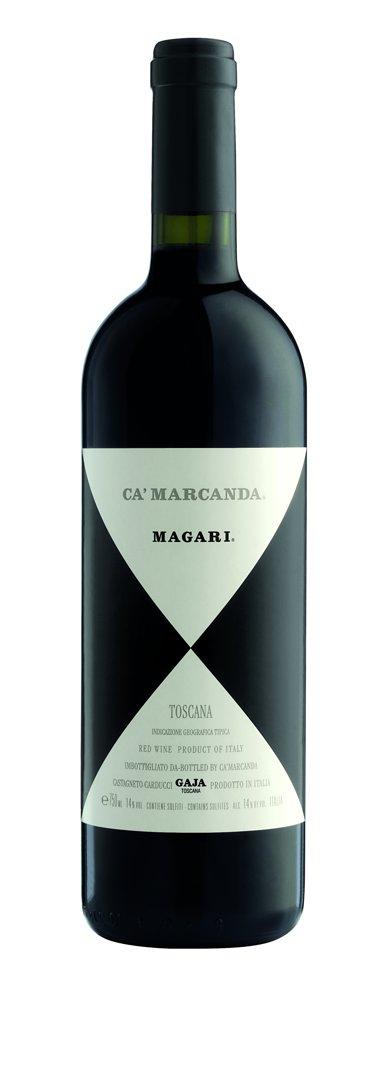 Ca´ Marcanda Gaja Magari - červené víno suché 0,375l