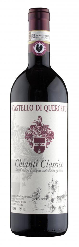 Querceto Chianti Classico - červené víno, suché 0,75l 2015
