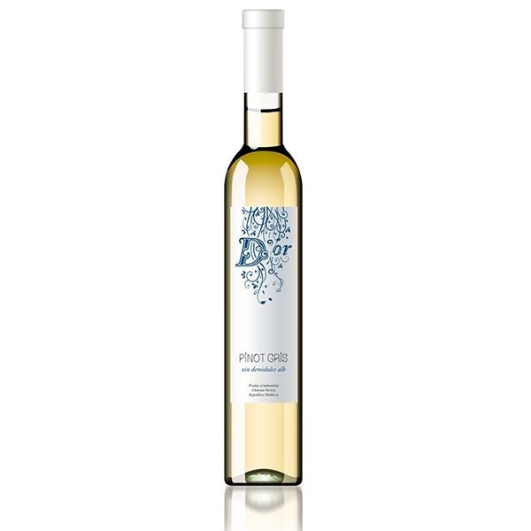 Pinot Gris D'Or - Bílé polosladké víno 0,5l
