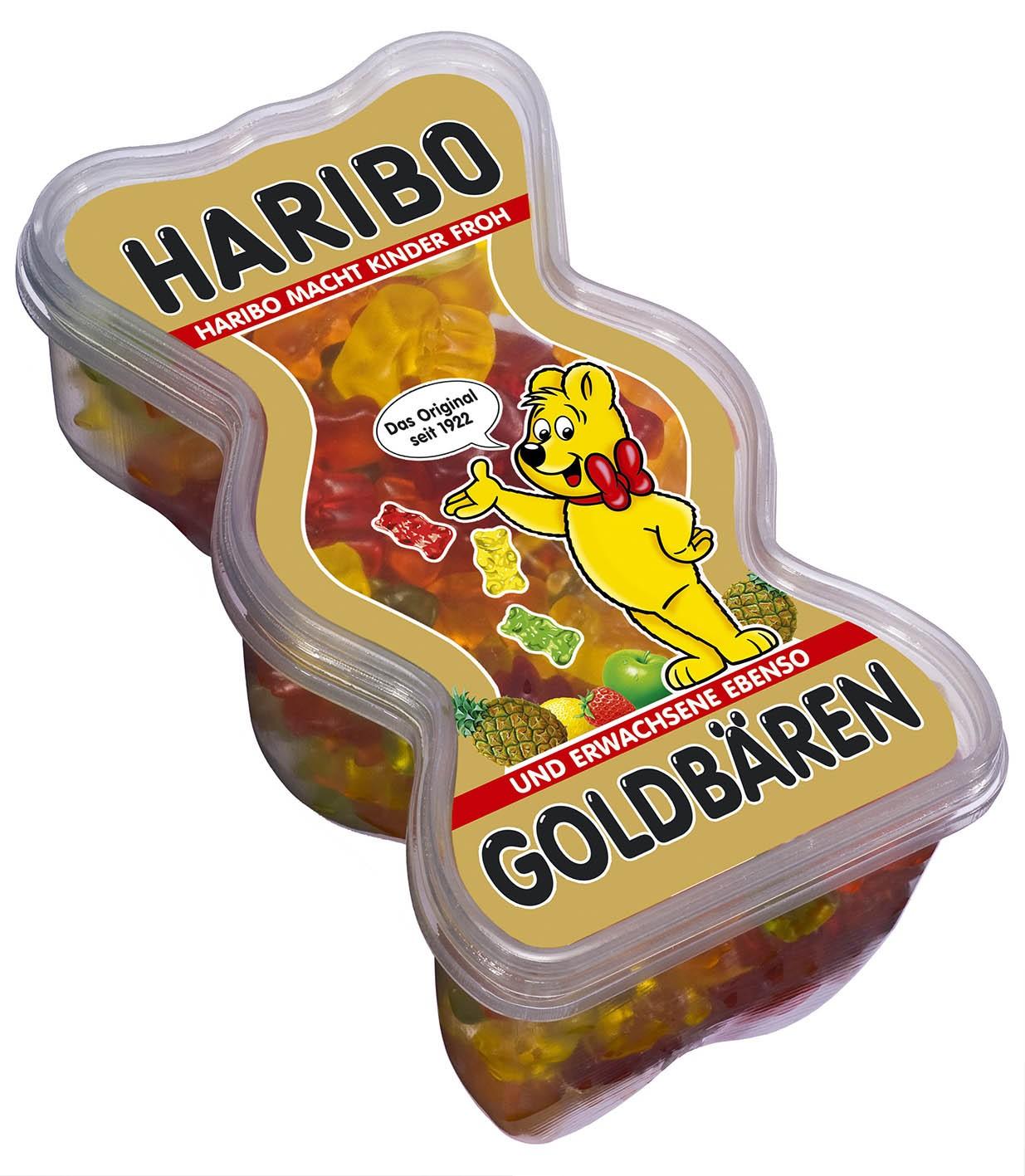 Haribo Goldbären Dose - Želé bonbóny v dóze ve tvaru medvídka 450g