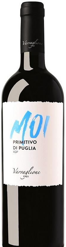 MOI Varvaglione Primitivo - červené suché víno 0,75l