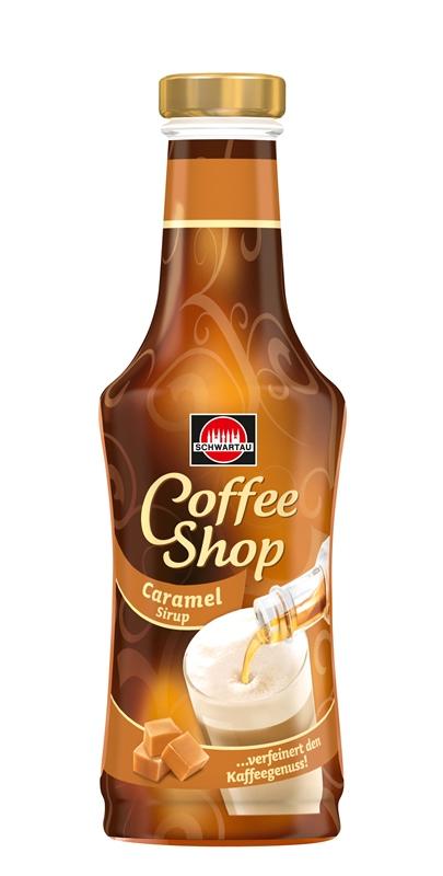 Schwartau Coffee Shop Caramel - Karamelový sirup do kávy 200ml